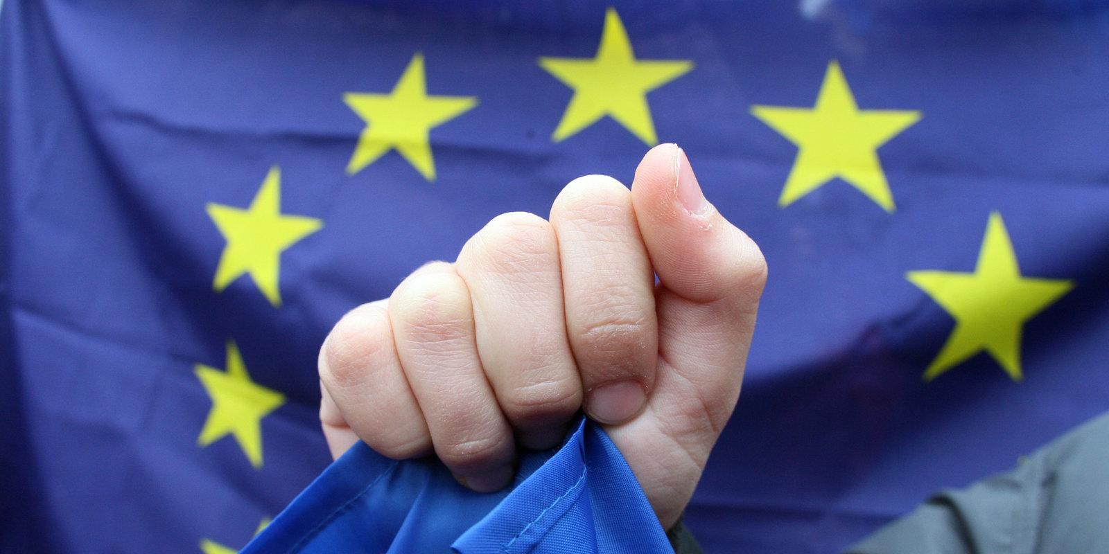 UKRAINE-EU-OPPOSITION-PROTEST